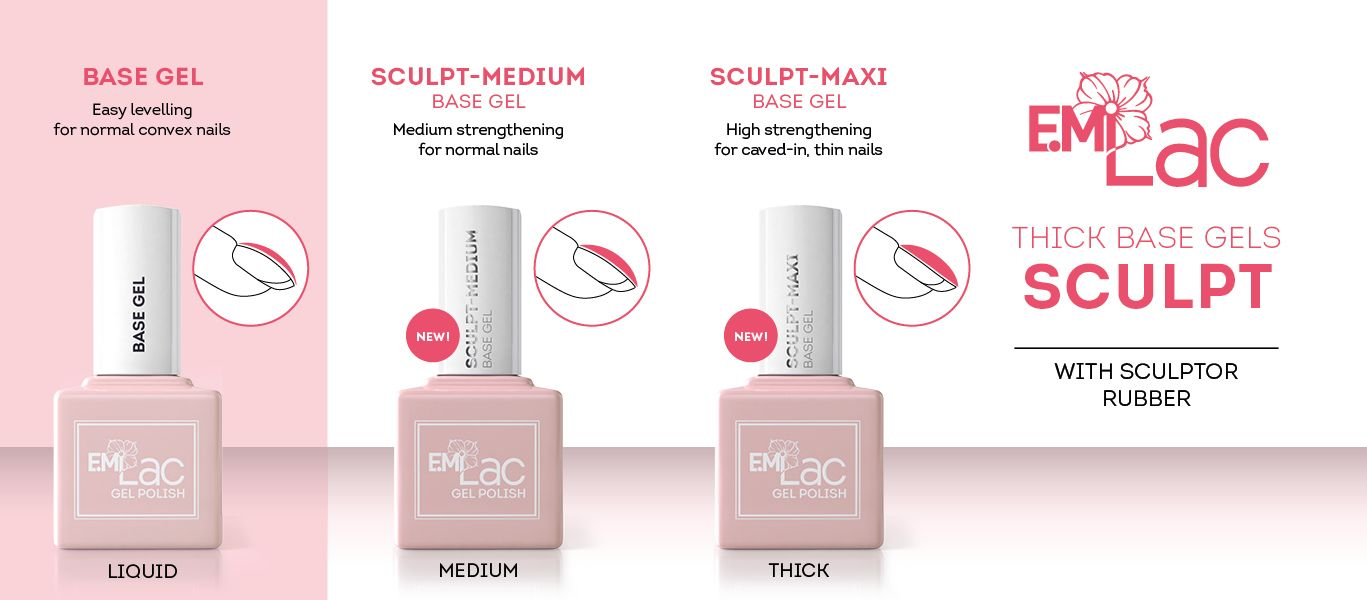 E.MiLac Sculpt Base Gel